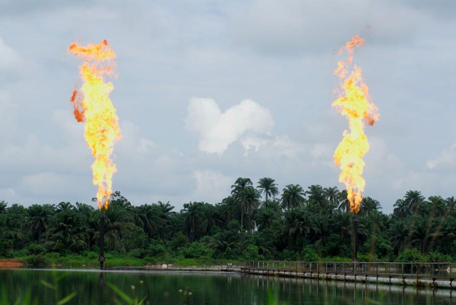 Gas Flares in Ogoniland